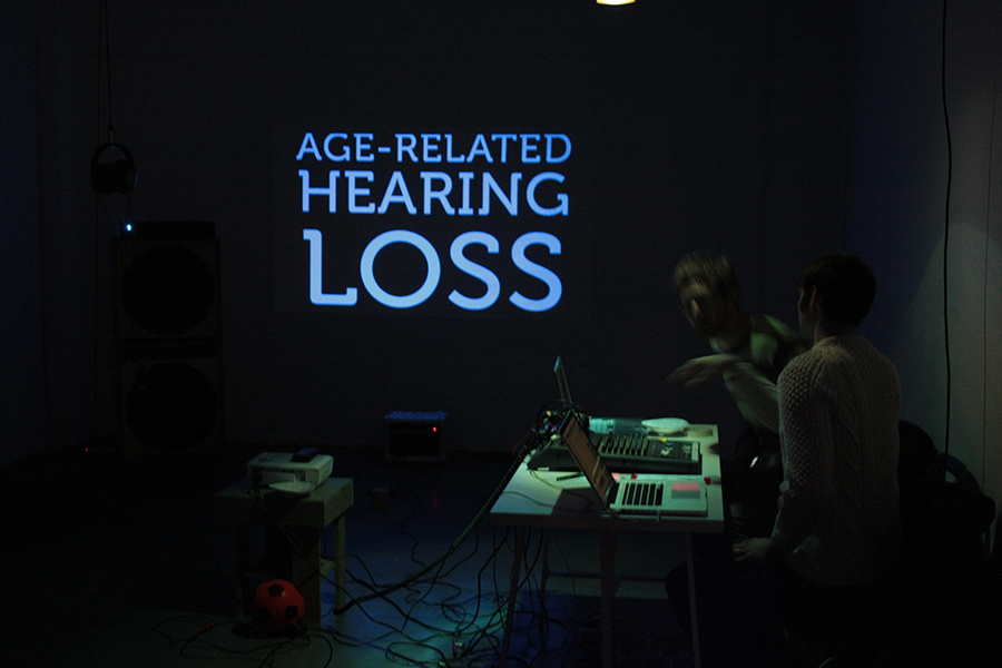 Steven Dickie, Age Related Hearing Loss, 2011